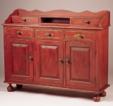 Three Door Linen Chest
