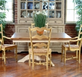 60″ SQUARE PEDESTAL TABLE