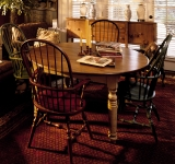 60″ ROUND TABLE WITH FARMHOUSE LEGS
