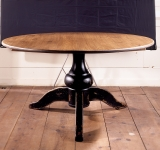 48″ ROUND PEDESTAL TABLE